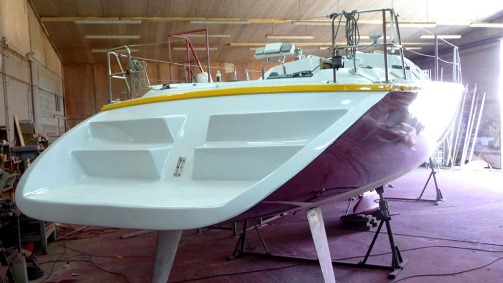 Refitting the boat